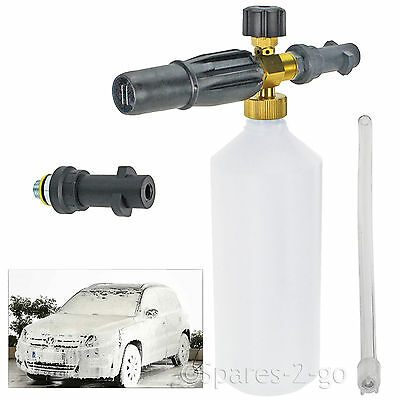 1L Snow Foam Nozzle Spray Jet Lance Bottle for KARCHER FJ6 K2 K3 K4 K5 K6 K7