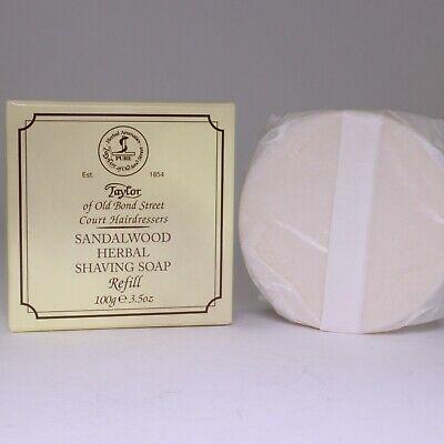 Taylor of Old Bond Street Sandalwood Herbal Shaving Soap