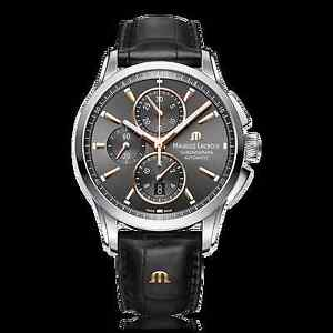 Maurice Lacroix  Pontos PT6388-SS001-331-1 Men's Automatic Chronograph Watch