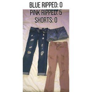 Pants/leggings/shorts