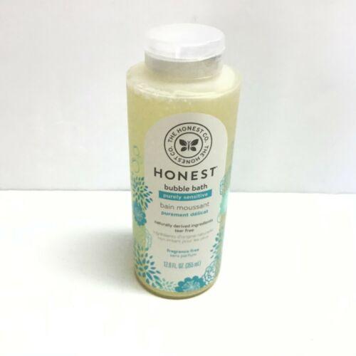 Honest Purely Sensitive Moisturizing Bubble Bath Fragrance Tear Free Clear