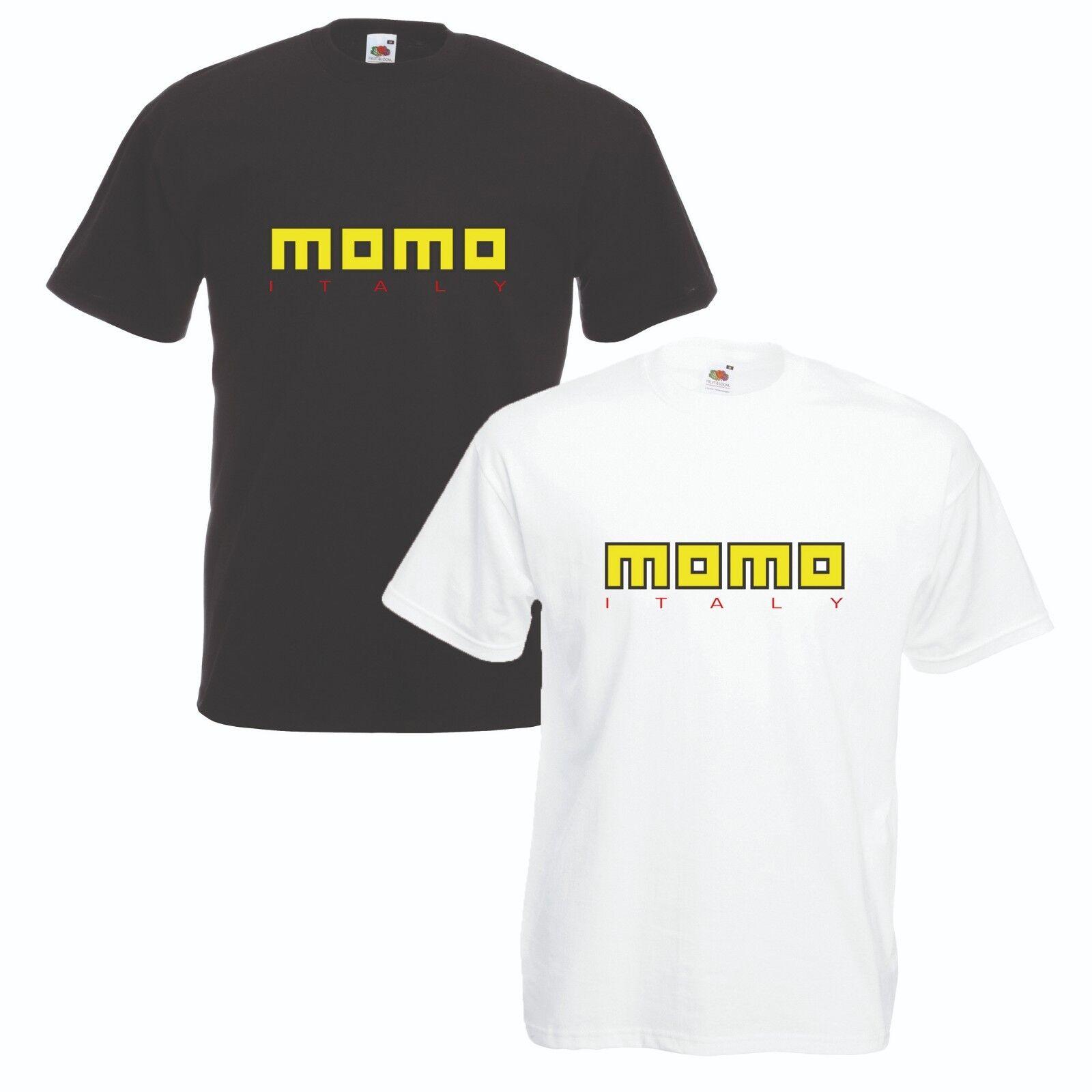 Momo Wheel T-Shirt VARIOUS SIZES & COLOURS Motor Sports Raci