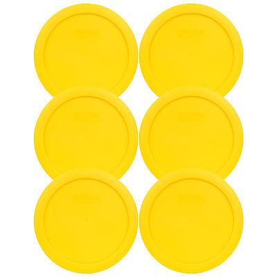 Yellow Plastic Bowls (Pyrex 7201-PC 6