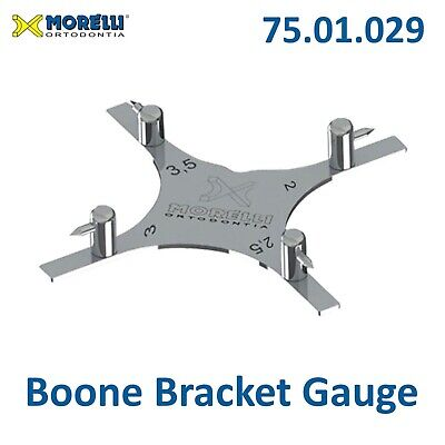 Morelli Dental Boone Gauge Orthodontic Bracket Positioner Star 75.01.029