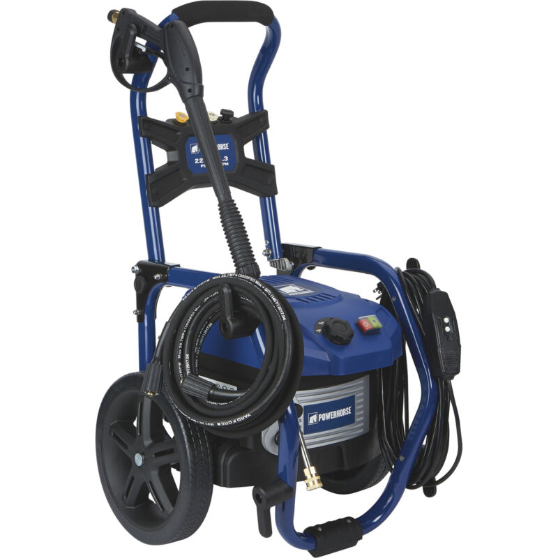 Powerhorse Brushless Electric Pressure Washer - 1.3 GPM, 2200 PSI