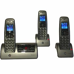 Bt Hudson 1500 Trio Cordless Home Phones Telephones Answering Machine