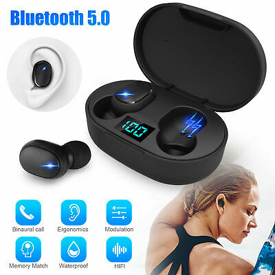 Mini New E6S TWS Stereo Airdots Headset Bluetooth 5.0 Earphone Headphone Earbuds