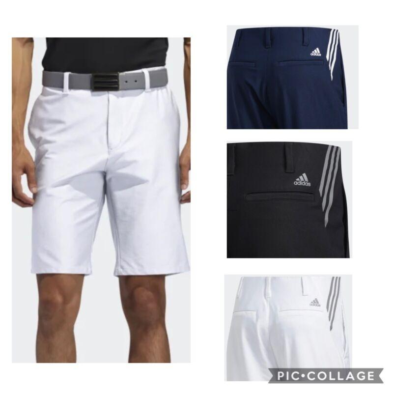 New Men's Adidas Ultimate365 3-Stripes  Golf Shorts- Pick Size/Color-MSRP  $65