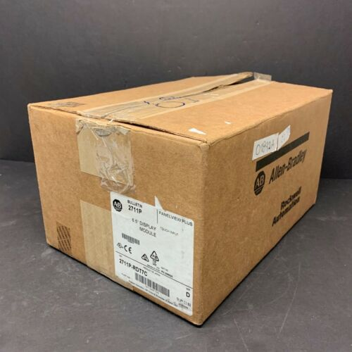 2016 New Allen Bradley 2711P-RDT7C D PanelView Plus 700 Display Module Touch HMI