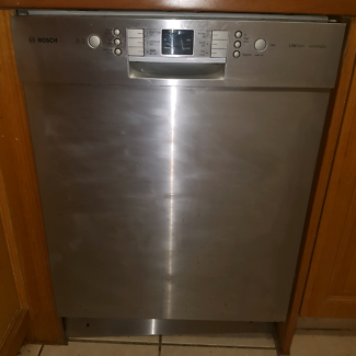 Bosch 15 place setting dishwasher