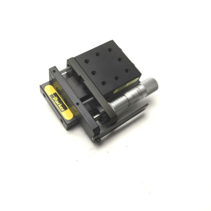 "Parker 4054 Ball Bearing Linear Stage Slide Manual Positioner 1/2"" Travel"