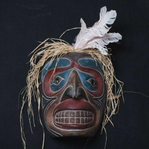 West Coast mask - Vintage  (Haida Tsimshian Tlingit Salish Kwakiutl)