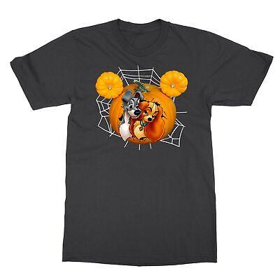 Disney Halloween Tee Shirts (Disney Halloween Lady and the Tramp Cartoon Men's)