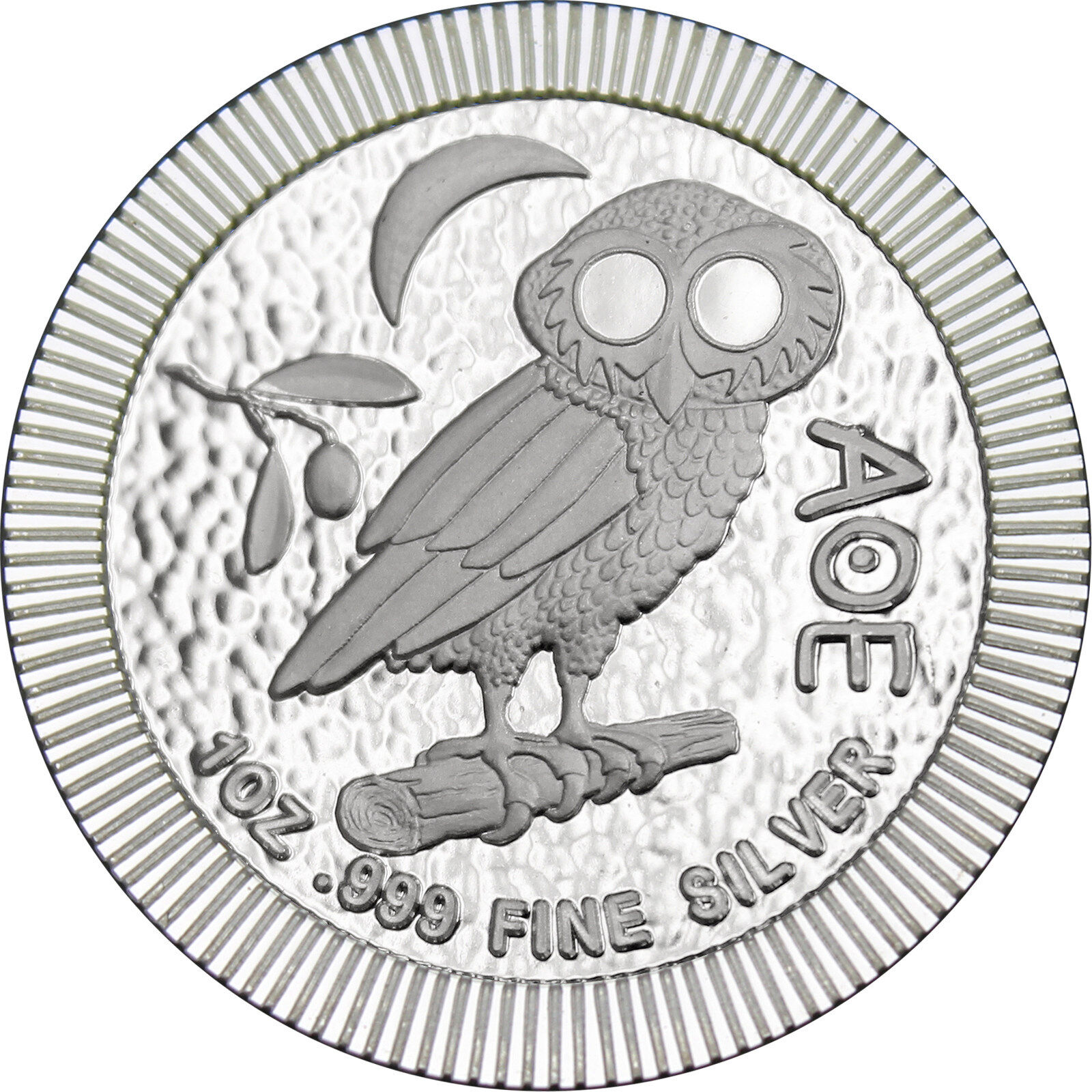 2018 Niue Silver Owl of Athena Stackables 1oz .999 Silver Coin