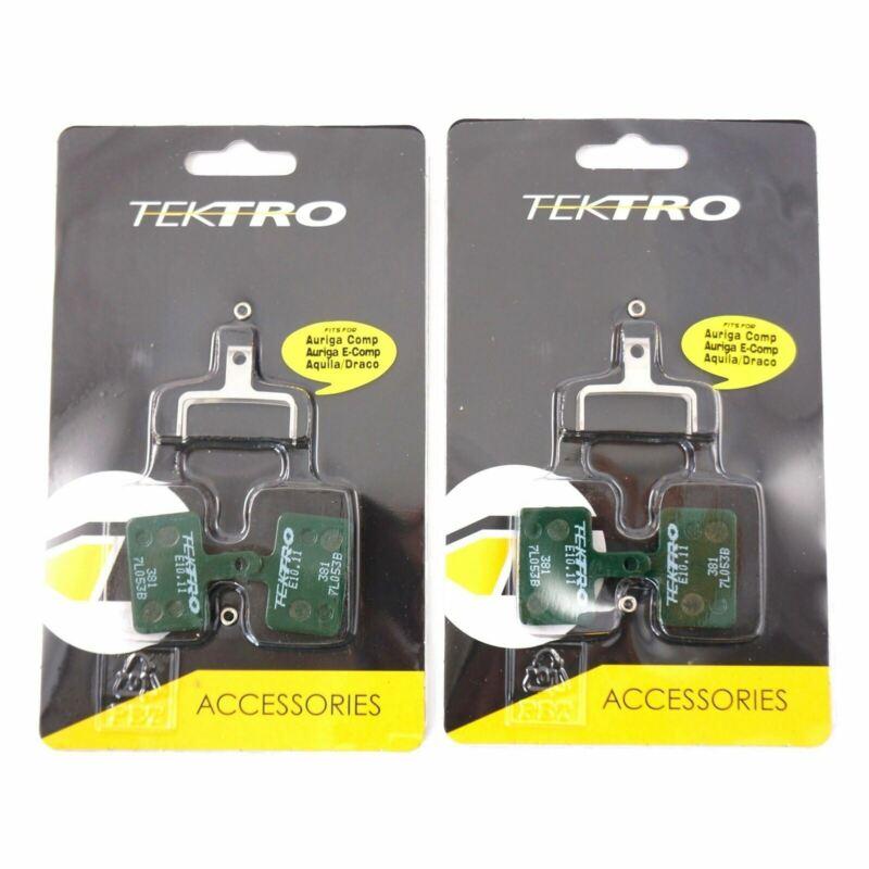 1 or 2 Pair Tektro E10.11 Metal  Disc Brake Pads Auriga/Draco/Orion