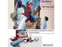 Marvel Ultimate Spiderman on Sure Strip Wallpaper Border 99 cents per foot!