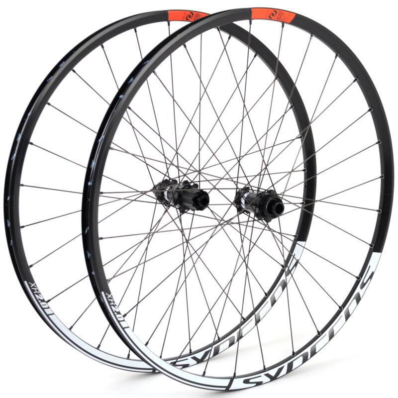 """MTB Shimano XT M756 hubs,Mountain Bike Wheel Set 26/"""" DT Swiss E540 Black"""