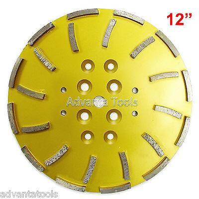 12 Concrete Grinding Head For Floor Grinders - 24 Segments
