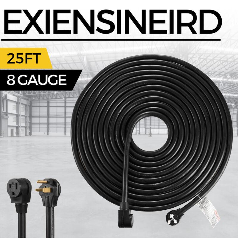 25FT 8/3 Welder Extension Cord 8 Gauge Heavy Duty Welding Cable 50Amp 220V