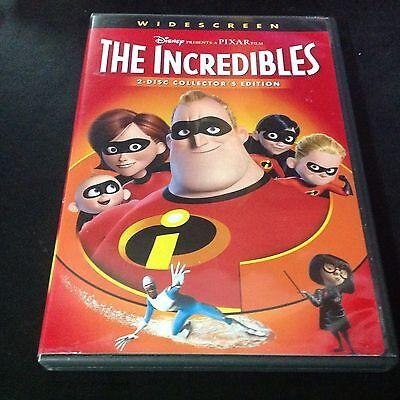 Disney PIXAR - THE INCREDIBLES - DVD - 2 disc Collector's Edition