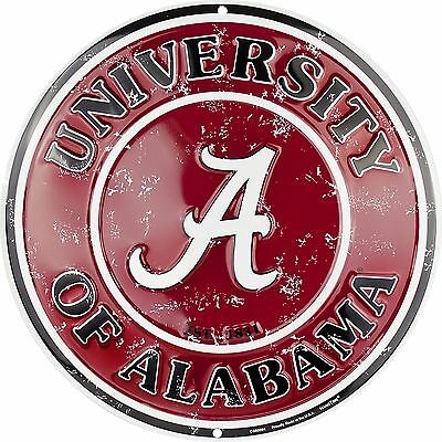- University of Alabama Crimson Tide Embossed 12