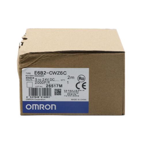 OMRON E6B2-CWZ6C Rotary Encoder 2000P/R New One year warranty