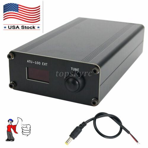 ATU-100 EXT 1.8-50M 100W Open Source Shortwave Auto Antenna Tuner Metal Shell US