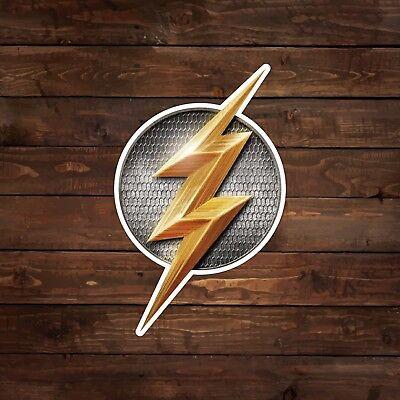 The Flash Mini DCEU Justice League Logo Decal/Sticker - Cheap Stickers