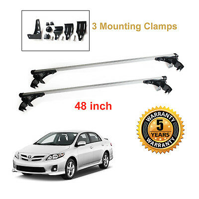 New Car Roof Cargo Luggage Carrier For Toyota Corolla 2003-2011 Cross Bar  Rack