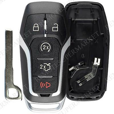 Shell Case For 2015 2016 2017 2018 Ford Mustang Keyless Entry Remote Key Fob