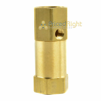 34 In Line Air Compressor Check Valve Inline Brass Side Unloader Port