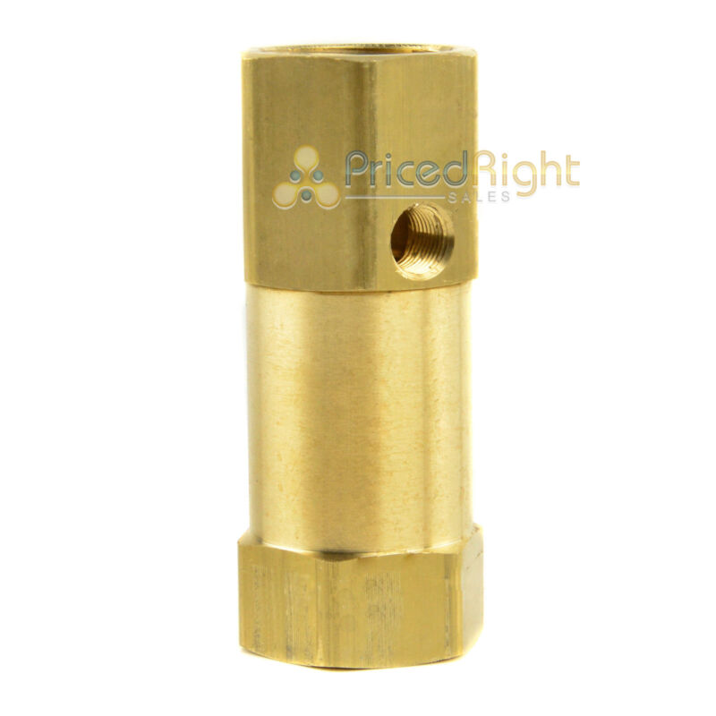 """New 3/4"""" in line air compressor check valve inline"""
