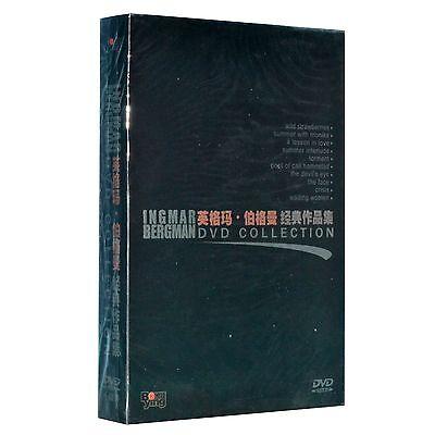 Classic Ingmar Bergman Movie Collection 10DVD Box Set English subs Monika