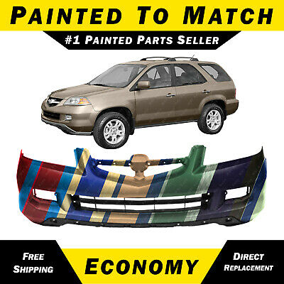 NEW Painted to Match Front Bumper Cover for 2004 2005 2006 Acura MDX 04 05 06 Acura Mdx Front Bumper