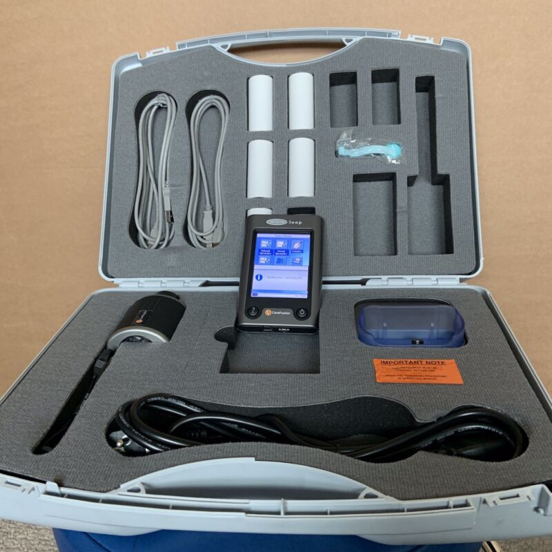 Carefusion Micro Loop Spirometer System with transducer