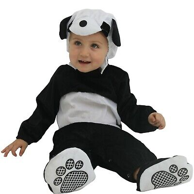 Panda Halloween Outfits (Baby Rompers Infant Panda Halloween Jumpsuit Costume Kids Cosplay Party)