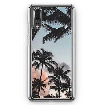 Tropical-motiv (Huawei P20 Hard Cover Hülle Palmen Landschaft Tropical Motiv Design Tropisch So)