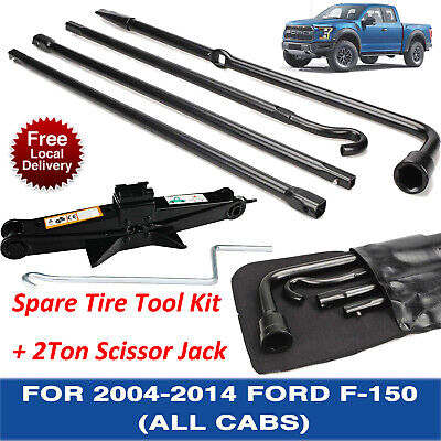 Jack Spare Tire Tool Kit for 2005 2006 2008 2010 2011 2012 2013 2014 Ford