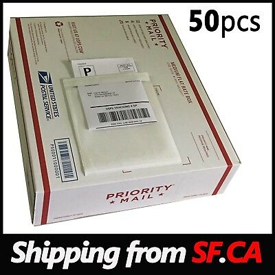 50 Pcsshipping Label Pouch Packing List Clear Invoice Slip Envelope 5 34 X 7