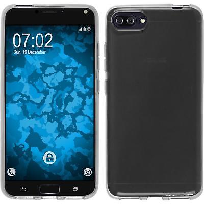 SILICONE CASE FOR ASUS ZENFONE 4 ZE554KL TRANSPARENT CRYSTAL CLEAR COVER