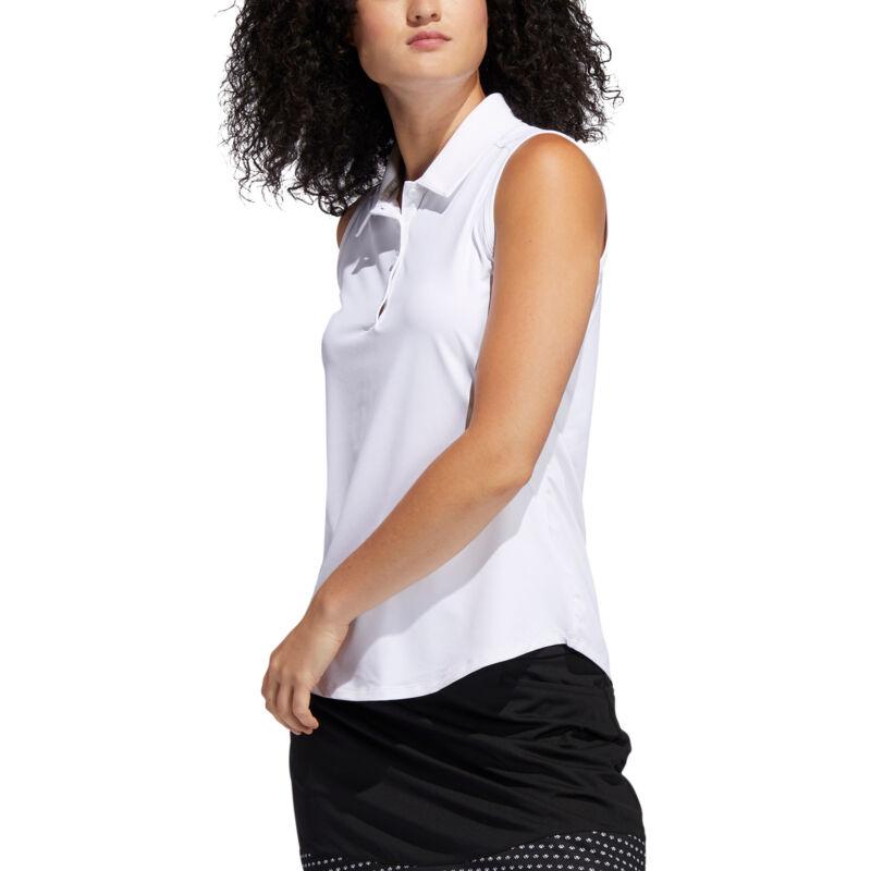 Adidas Ultimate365 White Womens Golf Polo