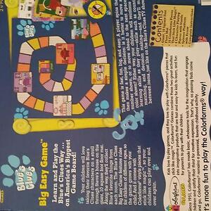Blues Clues Snakes and Ladders Scarborough Redcliffe Area Preview