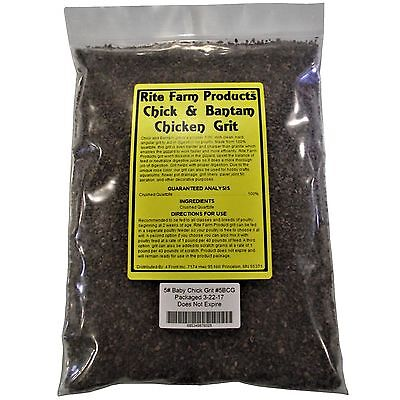 Rite Farm Products 5 Baby Chick And Bantam Grit Feed Chicken Poultry Turkey