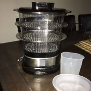 TEFAL COMPACT STEAMER - MULTI LEVEL Willetton Canning Area Preview