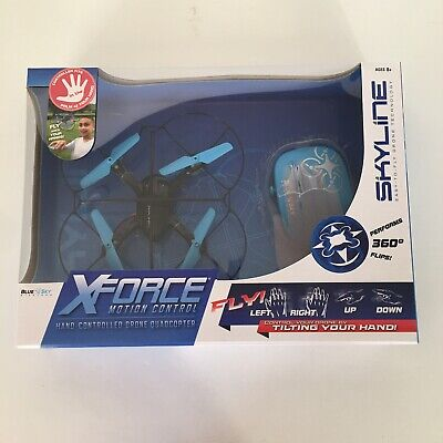 Xforce Drone Quadcopter Motion Manual labourer Controlled Blue Sky Wireless X Force