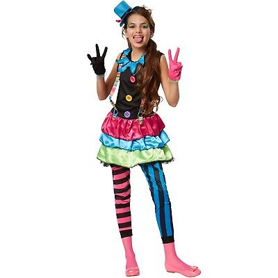 y Clown Joker Zirkus Manege Hofnarr Harlekin Karneval Fasching (Crazy Clown)