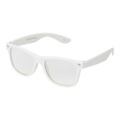 Weiß Klar Klassischer Stil Erwachsene Kostüm Brille Perfekt Partys Hipster - Superhelden Nerd Kostüm