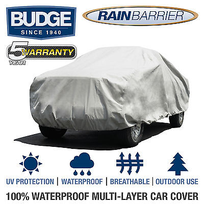 Waterproof Budge TRB-2 Gray Truck fits Trucks up to 197 L x 60 W x 56 H Truck Cover Outdoor Breathable
