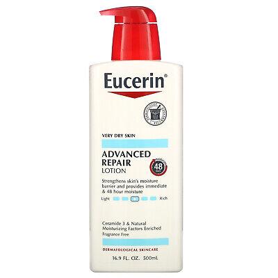 Advanced Repair Lotion, Fragrance Free, 16.9 fl oz (500 ml)