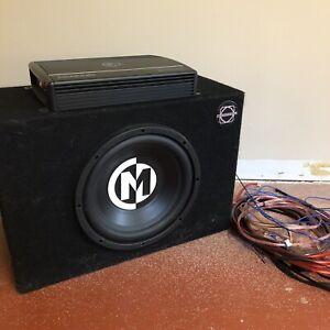 """10"""" Memphis Audio Sub and Amp"""